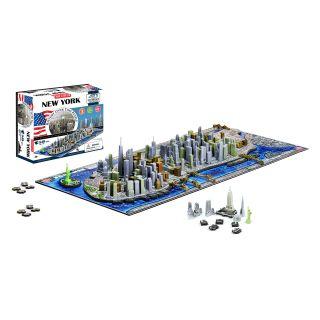 4D Cityscape Skyline Time Puzzle   New York City   3D Puzzles