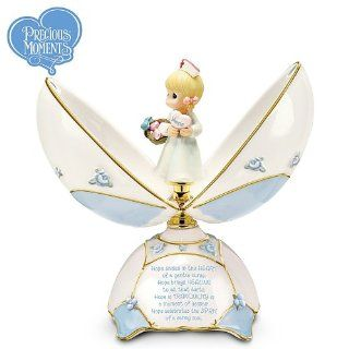 Precious Moments A Nurse's Blessings Music Box by Ardleigh Elliott   Home Decor Accents