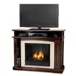 Fireplace Mantel Entertainment Center On Popscreen