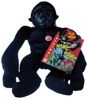 "7"" Classic Roaring King Kong Plush Doll with Sound: Toys & Games"