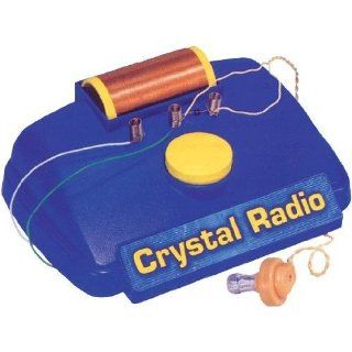 Elenco MX 901C/CS10 (Casepack of 10) CRYSTAL RADIO KIT: Everything Else