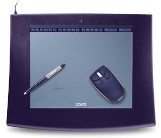 Wacom Intuos2 9x12 Serial Tablet with Intuos2 Grip Pen & 4D Mouse (XD912SER): Electronics