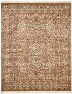 Safavieh Royal Kerman Collection RK12A Hand Knotted Multicolor Wool Area Rug, 2 Feet by 3 Feet