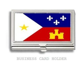 Acadian Cajun Flag Business Card Holder Case