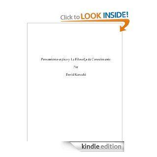 Pensamiento cr�tico y La Filosof�a de Conocimiento (Spanish Edition) eBook Diana Kanecki Kindle Store