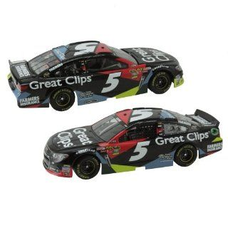 Action Racing Collectibles Kasey Kahne 2013 Great Clips 124 Scale Platinum DieCast Chevrolet Camar Toys & Games
