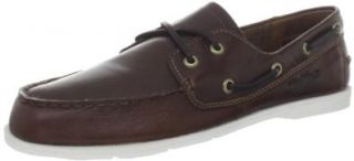 Helly Hansen Men's Deck Classic Leather Boat Shoe Shoes