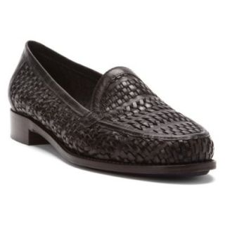 Sesto Meucci Astyr   Women's Loafers Black Loafer Flats Shoes