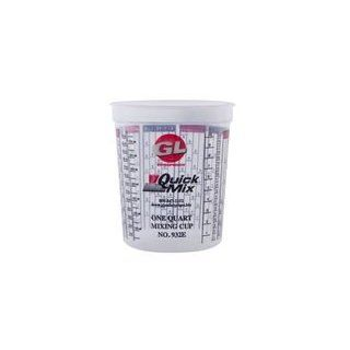 Quick Mix Measuring/Mixing Cups 1 Quart #932 Graduated (100/Case) Kitchen & Dining