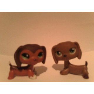 Littlest Pet Shop Series 2 Postcard Pets Dachshund: Toys & Games