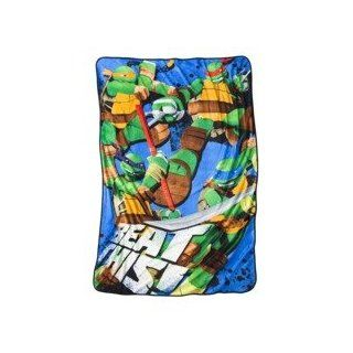Teenage Mutant Ninja Turtles Plush Fleece Blanket   Bed Blankets