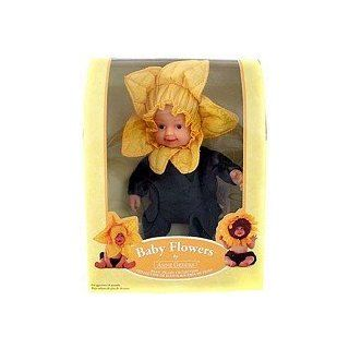 Anne Geddes Baby Flower Plush Doll Toys & Games