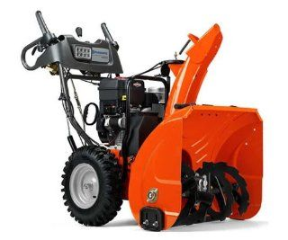 "Husqvarna 924HVX 24"" 205cc Briggs & Stratton OHV Two Stage Snow Blower : Patio, Lawn & Garden"