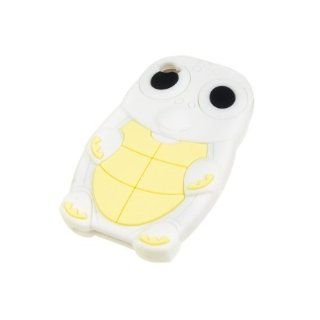 Neewer  Stylish White +Yellow Happy Frog Shape Silicon Shell Case Soft Back Cover for Apple iPhone 4S Cell Phones & Accessories