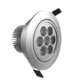 DELE 5PCS 7W LED Ceiling Light Recessed Cabinet Down Lamp Bulb Spot Light 100V 240V cool white   Led Household Light Bulbs