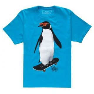 RIOT SOCIETY Skate Penguin Boys T Shirt Clothing