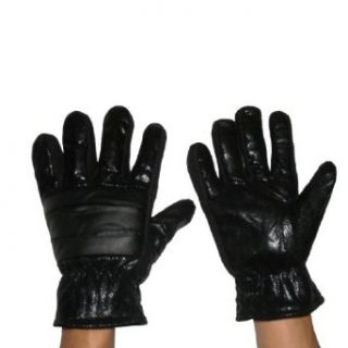 Mens Warm & Windproof Winter Ski Gloves With Interior Lining X Large Black at  Men�s Clothing store