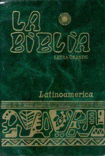 La Biblia Letra Grande Latinoamerica: Books
