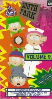 South Park Volume 9 Conjoined Fetus Lady & The Mexican Staring Frog Kenny McCormick, Kyle, and Stan Eric Cartman, Ned & Jimbo Pip, Trey Parker & Matt Stone, Comedy Central Movies & TV