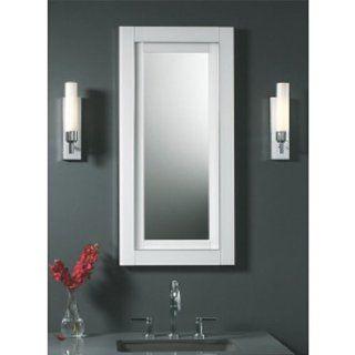 Robern FWMCD2040W Candre Wall Mirror 20 X 40 White