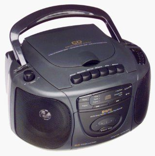 GPX C983 CD Player AM/FM Stereo Cassette Recorder  Cd Player Products   Players & Accessories