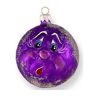 "Glass Christmas Ornaments, ""BOO"", exclusive Mold by Mia : Other Products : Everything Else"