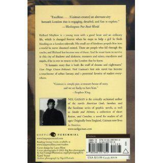 Neverwhere A Novel Neil Gaiman 9780060557812 Books