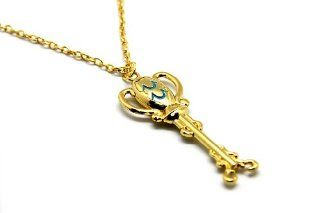 CTMWEB Anime Fairy Tail Cosplay Accessory Matel Key of Aquarius Pendant Necklace: Toys & Games