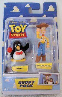 Disney / Pixar Toy Story Mini Figure Buddy Pack Wheezy & Big Arm Woody Toys & Games