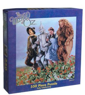 Wizard of Oz Skipping Through the Flowers Jigsaw Puzzle 550pc Toys & Games