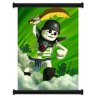 "Lego Ninjago TV Show Fabric Wall Scroll Poster (31"" x 42"") Inches  Prints"