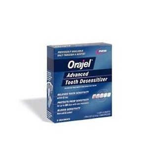 Orajel Advanced Tooth Desensitizer 3 Treatments: Health & Personal Care