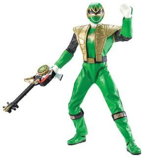 "Power Rangers Ninja Storm ""Green Samurai Talking Ninja Battle Ranger"": Toys & Games"
