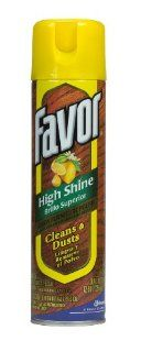 Favor Lemon Furniture Polish, 12.5 Ounce Cans (Pack of 12): Health & Personal Care