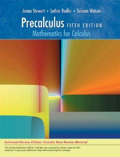 Bundle Precalculus Mathematics for Calculus, Enhanced Review Edition, 5th + Enhanced WebAssign Homework Printed Access Card for One Term Math and Science James Stewart, Lothar Redlin, Saleem Watson 9780538460767 Books