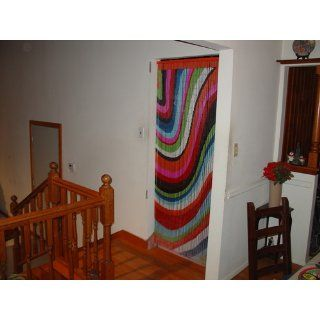 Color Art Waves Beaded Curtain 125 Strands (+hanging hardware)   Door Beads