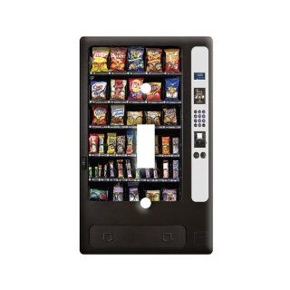 Snack Vending Machine   Plastic Wall Decor Toggle Light Switch Plate Cover