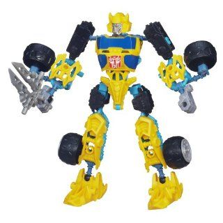 Transformers Construct Bots Scout Class Bumblebee Buildable Action Figure Toys & Games