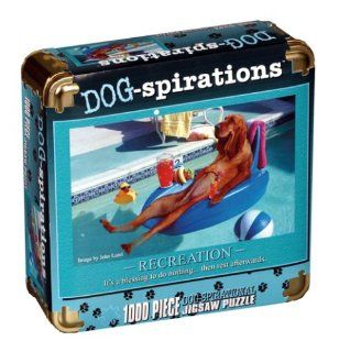 Dog Spirations Jigsaw Puzzle   Recreation Toys & Games