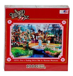 Toto, I've A Feeling We're Not In Kansas Anymore 1000 Piece Jigsaw Puzzle Toys & Games