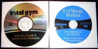 TOTAL GYM 2 DVD Workout Set Total Gym BASIC with Ab Crunch & Lower Body Workouts and 6 to 8 Minute Workout. Get the body you always wanted in just 6 8 minutes a day Movies & TV