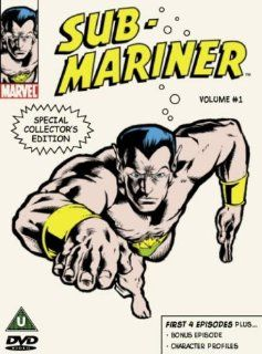 Sub Mariner, Vol. 1 [Region 2]: John Vernon, Bernard Cowan, Peg Dixon, Gillie Fenwick, Bill Everett: Movies & TV