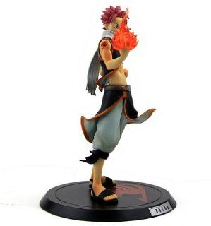 New Arrival Japan Anime Fairy Tail Natsu Dragneel High Quality PVC Action Figure Toy Approximately 20 Cm Gift: Toys & Games