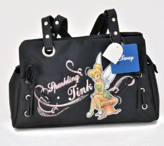 "Birthday Christmas Combo   Disney Tinkerbell Carryout Purse and Mickey Mouse 200 Piece Stickers, Size approximately 11"" X 6"" X 4"": Toys & Games"