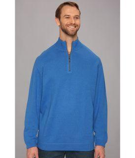 Tommy Bahama Big & Tall Big Tall Flip Side Pro Half Zip Mens Clothing (Navy)