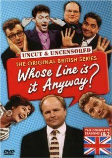 Whose Line Is It Anyway (British)   Seasons 1 & 2: Clive Anderson, Ryan Stiles, Colin Mochrie, John Sessions, Tony Slattery, Sandi Toksvig, Paul Merton, Betty Thomas, Martin Hawkins, Archie Hahn, Jonathan Pryce, Jon Glover, Chris Bould, Geraldine Dowd,