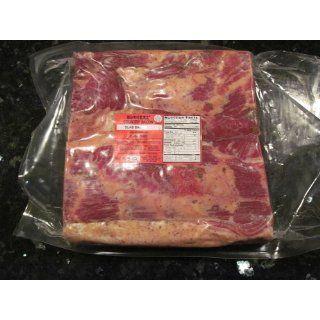 Whole Slab Bacon 9 11 lbs. (de rind) : Burgers Smokehouse : Grocery & Gourmet Food