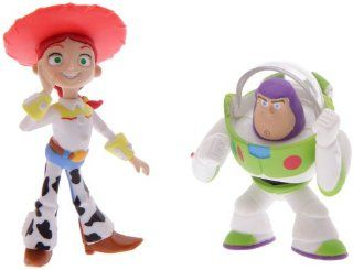 Toy Story Buddy Pack Action Hero Buzz Lightyear & Yodeling Jessie Mini Figures (Approximately 2 Inch High Figures) Toys & Games