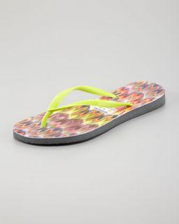 Havaianas Missoni Tops Flip Flops, Multicolor