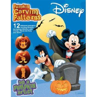 Pumpkin Carving Patterns Disney Mickey Pooh & Friends: Holiday Arts: Books